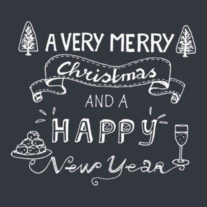 Christmas card #handlettering | design: Hilde Reurink