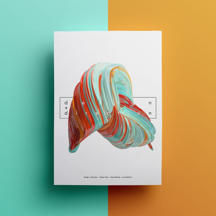 Visual Moods is a personal project, a combination of three different versions of posters I created using C4D & Adobe Photoshop. I wanted to visualize and present these artworks with a colorful twirls of 3D renders with a minimalistic typography. Those emb…