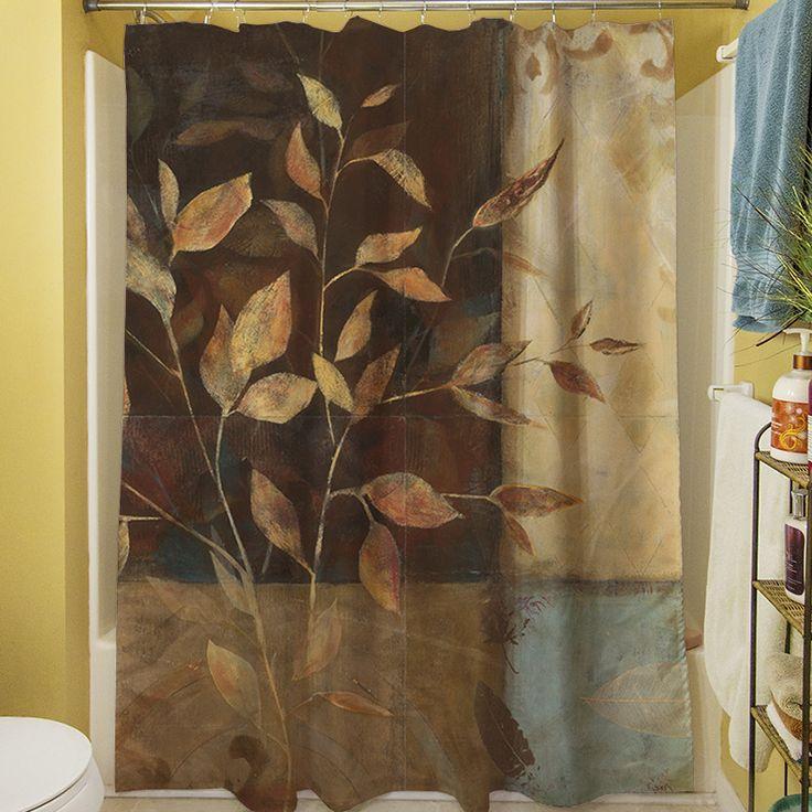 Autumn Texture I Shower Curtain
