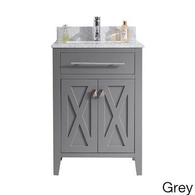 Website Picture Gallery Wimbledon Collection Inch Single Vanity with Marble Countertop Grey Size Single Vanities