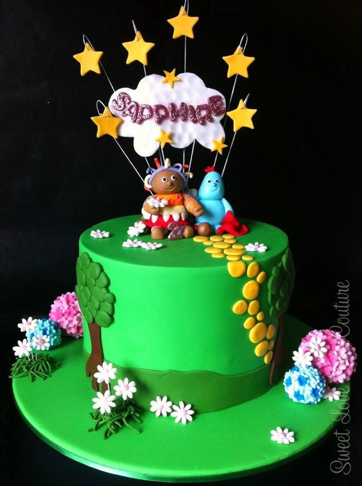 17 best images about themes in the night garden party on for In the night garden cakes designs