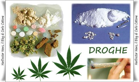 Droghe e sostanze stupefacenti