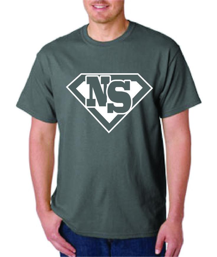 NS Hero T-shirt in Charcoal