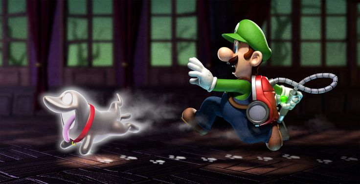 Luigi's Mansion: Dark Moon Multiplayer Trailer