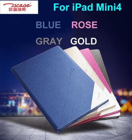 "Tablet PC case For iPad Mini 4 Flip Thin Leather Case For iPad Mini4 Tablet PC cover,  For iPad Mini 4 Case 7.9"" 4 color  — 1057.53 руб. —"