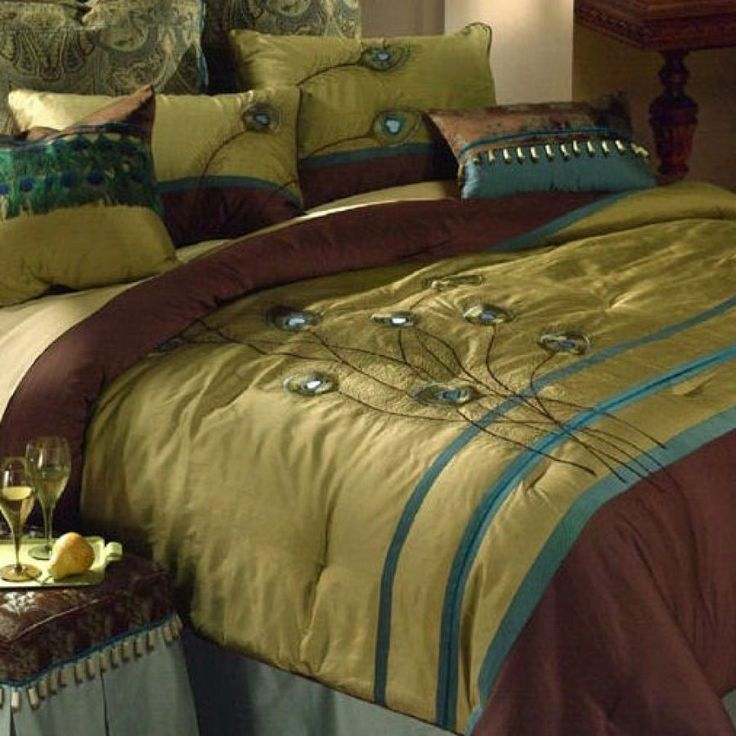 Since Matthew Won 39 T Let Me Have A Cemetery Themed Bedroom I Am Considering Peacocks Home