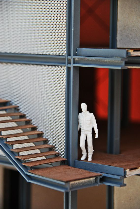 The 1:50 model by SANAA of Lina Bo Bardi's SESC Pompéia, XII Biennale architettura di Venezia 2010 - Google Search