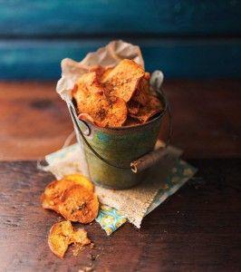 Peri+Peri+Baked+Sweet+Potato+Crisps