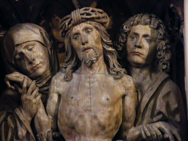 Detail of the altarpiece, Heilbronn Church
