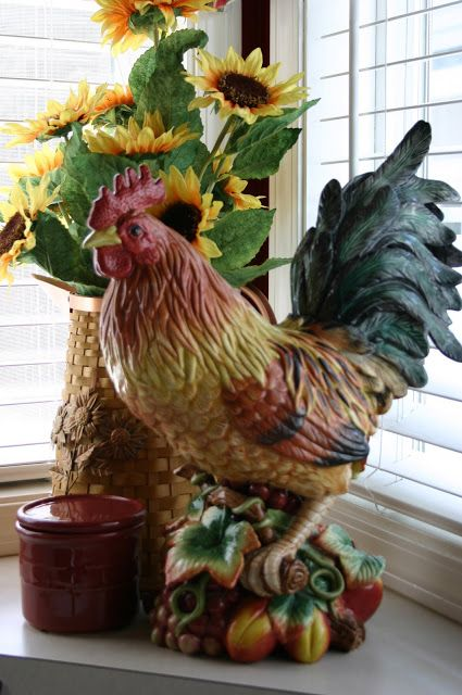 Rooster Decor In Living Room: 17 Best Images About Roosters On Pinterest