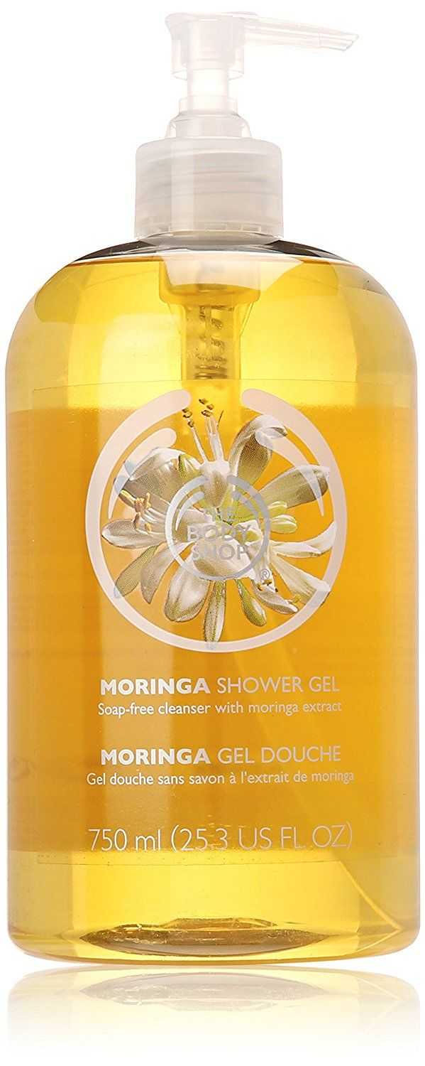 The Body Shop Mega Shower Gel, Moringa, 25.3 Fluid Ounce (Packaging May Vary) * Read more reviews of the product by visiting the link on the image. (This is an Amazon Affiliate link and I receive a commission for the sales)