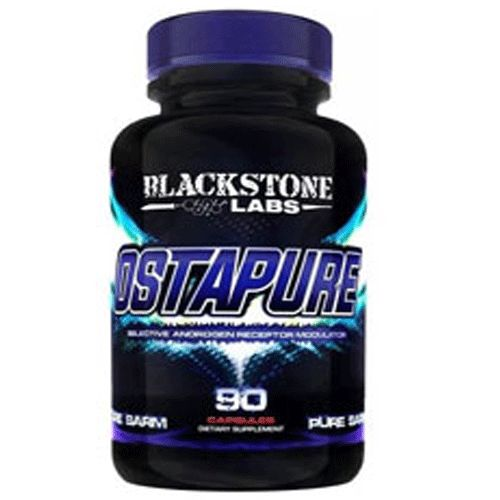 Blackstone Labs Ostapure is a Selective Androgen Receptor Modulator or known as SARMs. Ostapure Ostarine also has the same anabolic effect as testosterone without any of the adverse side-effects. SARMs have the ability to stimulate the androgen receptor just like the use of anabolic steroids. Unlike steroids, Osrapure will not shut down natural testosterone production. As a result, men can use it while bridging between cycles, during a PH or DS cycle;