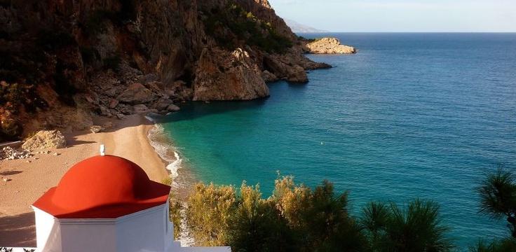 VISIT GREECE| Kyra Panagia Beach, Karpathos, Dodecanese #Greece www.facebook.com/skala.karpathos