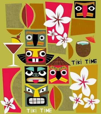 retro tiki #Tiki #Retro