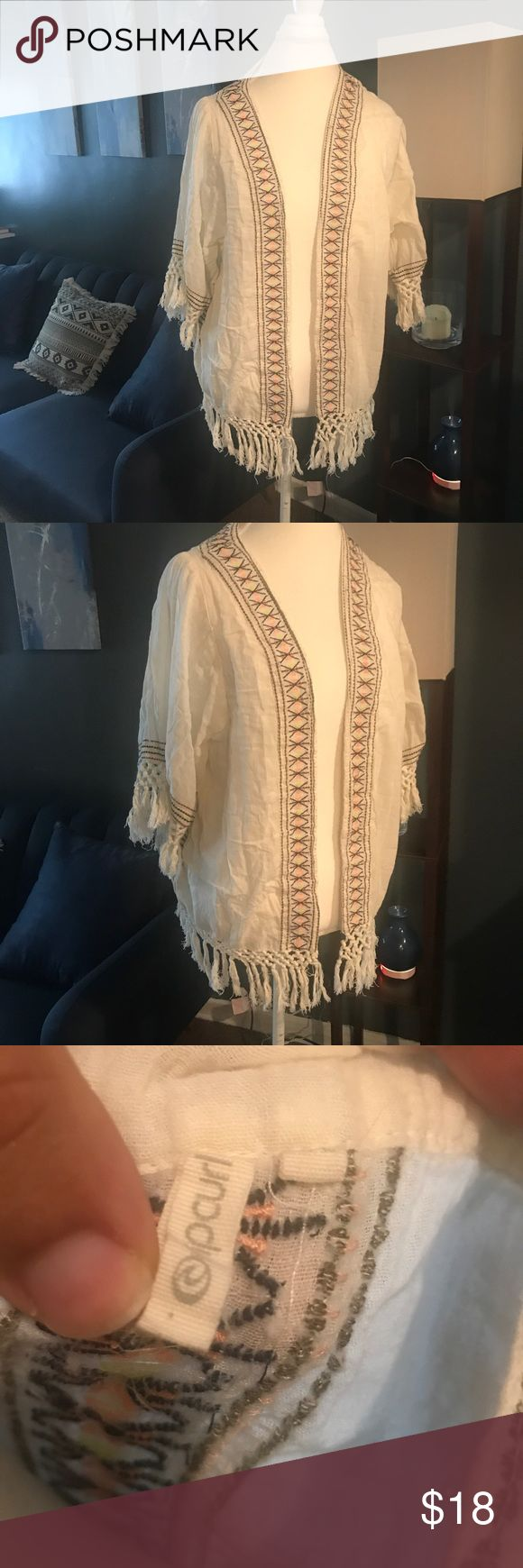 Ripcurl Tribal Cardigan Ripcurl Tribal Cardigan in great condition Rip Curl Tops