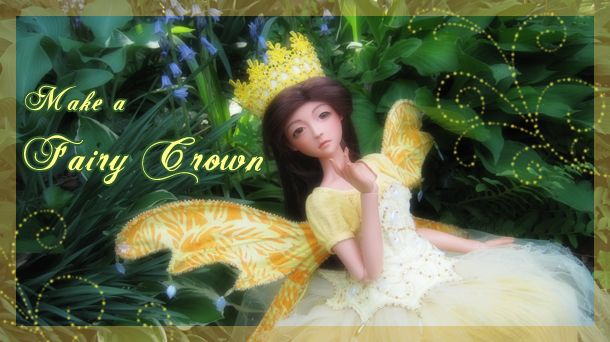 tutorial - fairy crown by Charie Wilson