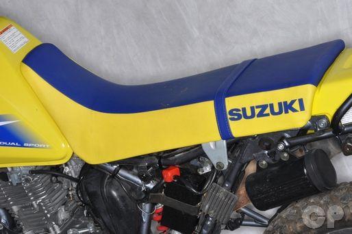 Suzuki DR200SE External Components - Seat Removal