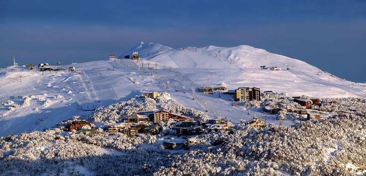 Mt Buller Alpine Resort in Victoria, Australia #snowaus