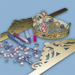 Princess Tiara Craft Kit (12/pkg) $11.99