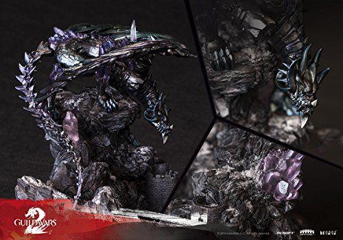 TOPOP Guild Wars 2 The Shatterer The Branded Dragon Statue TOPOP