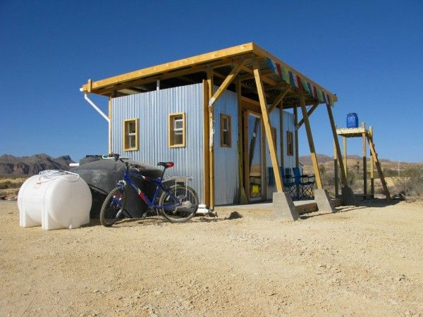 John Wells sustainable field lab house for $2400.