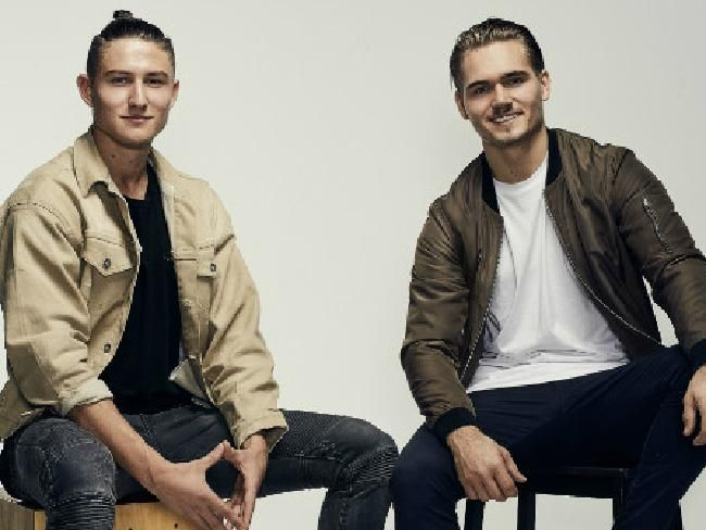 HiSmile founders Nik Mirkovic and Alex Tomic. Picture: Supplied