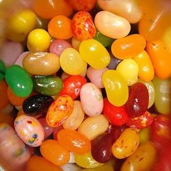 Jelly Belly gourmet jelly beans come in more than 50 delicious flavors. When you mix two or more different flavored beans together you can make...