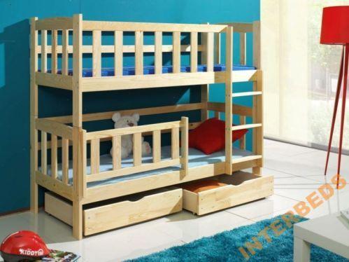 Etagenbett Hochbett Doppelstockbett Defi B mit Barrie und Matratze für Kinder | eBay