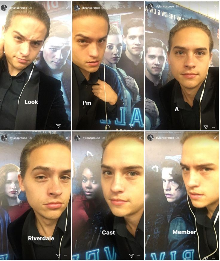 I've freaked out #dylansprouse #riverdale