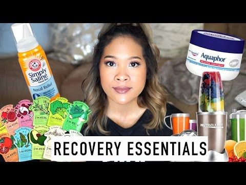 Jaw Surgery Recovery Essentials | Sydney Jones - YouTube