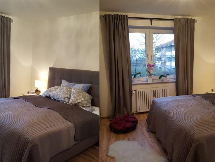 Boxspringbett, Bedroom, Schlafzimmer, Interior, Dekoration