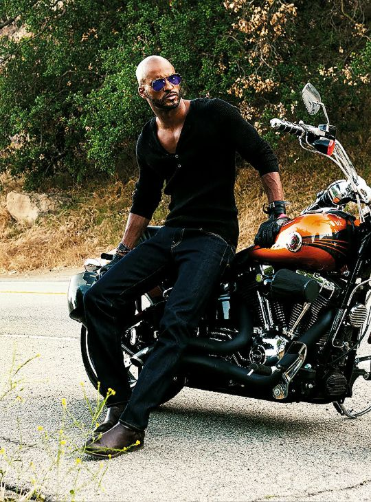 Ricky Whittle by Austin Anderton for DA MAN Magazine, June 2015