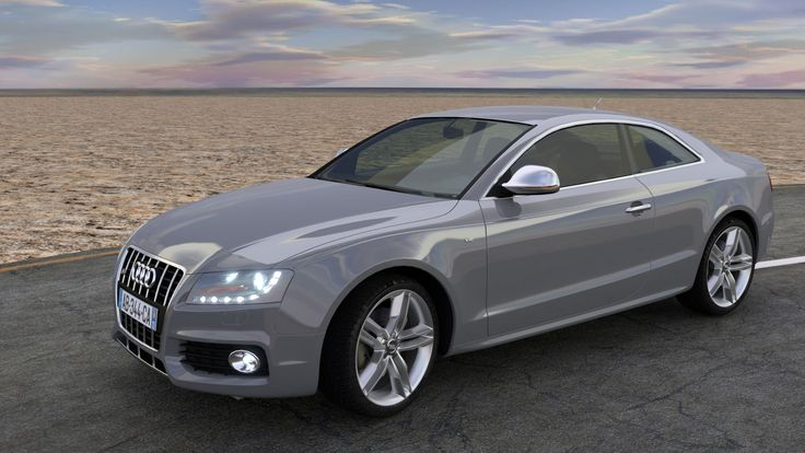Modèle 3D Audi S5 Blender. Voiture animée, couleurs auto, les roues tournent. Détection obstacles et relief, braquage roues, roulis tangage automatique. Dérapage, accélération, freinage.  Audi S5 3D ready to go with Blender. Full rigging armature , auto color, auto-wheel rotation, ground and obstacle detection, auto steering banking, drift control, acceleration, brake. For architectural films, the artist can focus on architecture scene. Available for purchase on Cgcookiemarkets.com