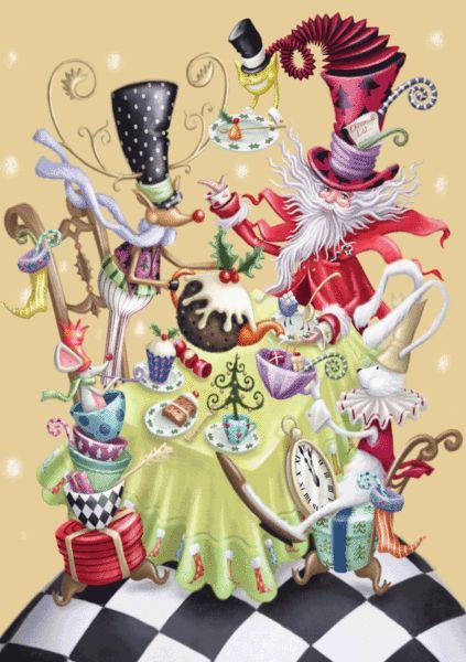 SantaLand Advent Card - The Paper D'Art Shop