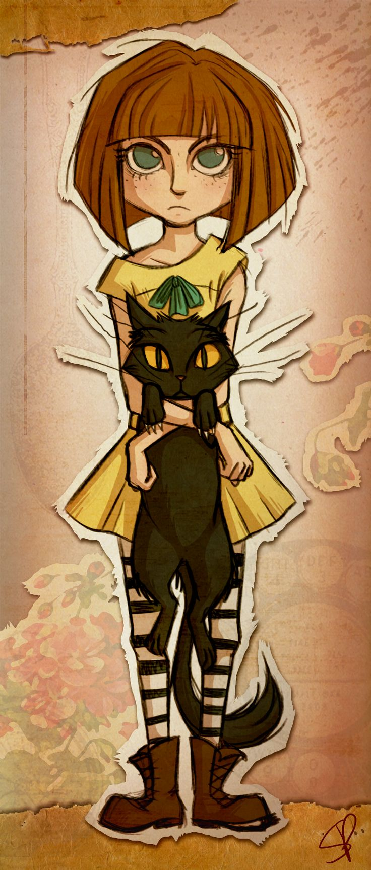 The house of madness invites you inside. — redrumrose —  Fran Bow was SUCH an amazing game :D...
