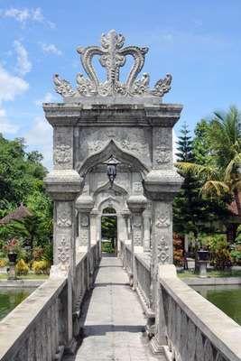 Taman Soekasada Ujung Karangasem, Bali, Indonesia