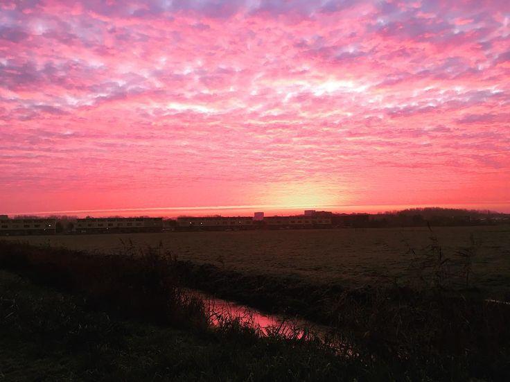 Mooi ochtendlicht bovenn#Groningen