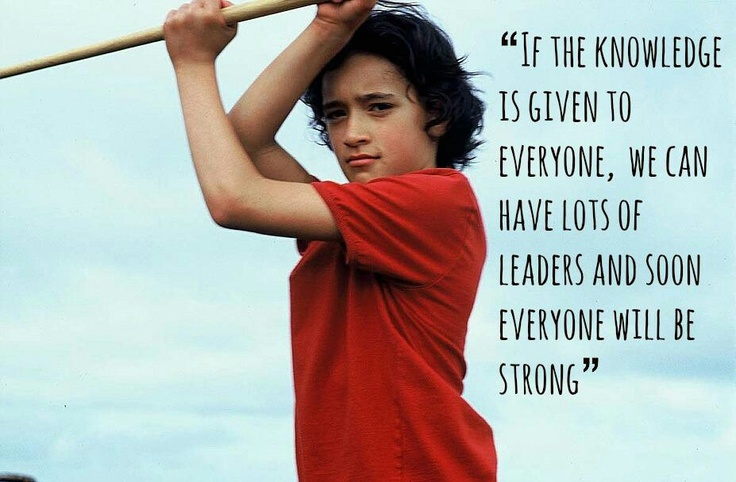 Whale Rider - love this movie
