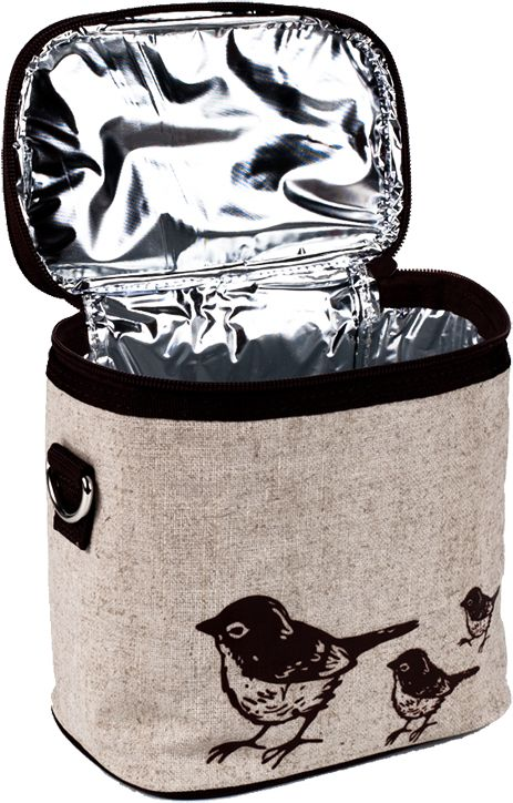 Why We Like the Small Cooler Bag Brown Bird: Accommodating traveling accessory. Fashionable flair. A practical gift option that won't disappoint. Small Cooler Bag Brown Bird The Brown Bird Small Coole