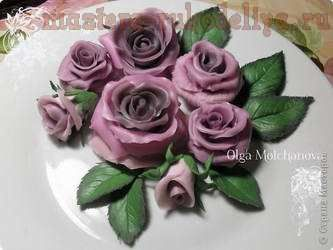 Мастер-класс по лепке из холодного фарфора: Розы