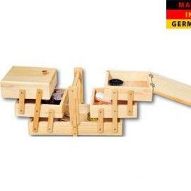 Cutie lemn pentru depozitare unelte