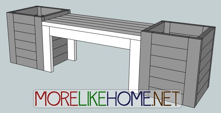 how to build a bench like of gymnasium