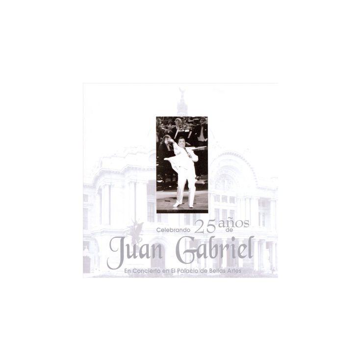 Juan gabriel - En concierto en el palacio de bellas (CD)