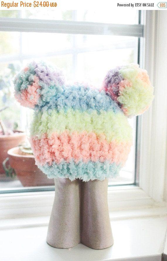 BLACK FRIDAY 6 to 12m Rainbow Baby Pom Pom Hat - Crochet Rainbow Hat Pom Pom Beanie Baby Rainbow Pom Pom Hat Photo Prop #baby #children #kids #kidsfashion #girlhat #boyhat #babyboy #babygirl #easter #rainbowhat #doublepompom #babyhat #hat #babamoon #etsy #photoprop #pomhat #pompomhat #christmasgifts