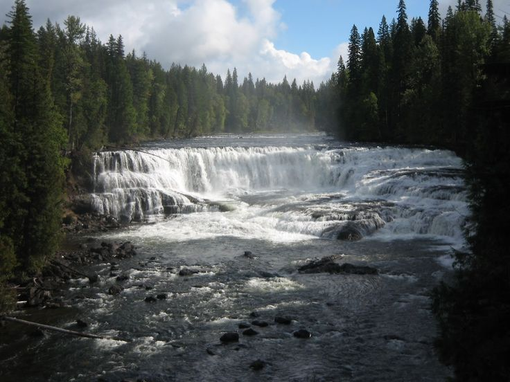 Tur til Canada - British Columbia: Clearwater – Dawson Falls Wells Gray Provincial Park, BC