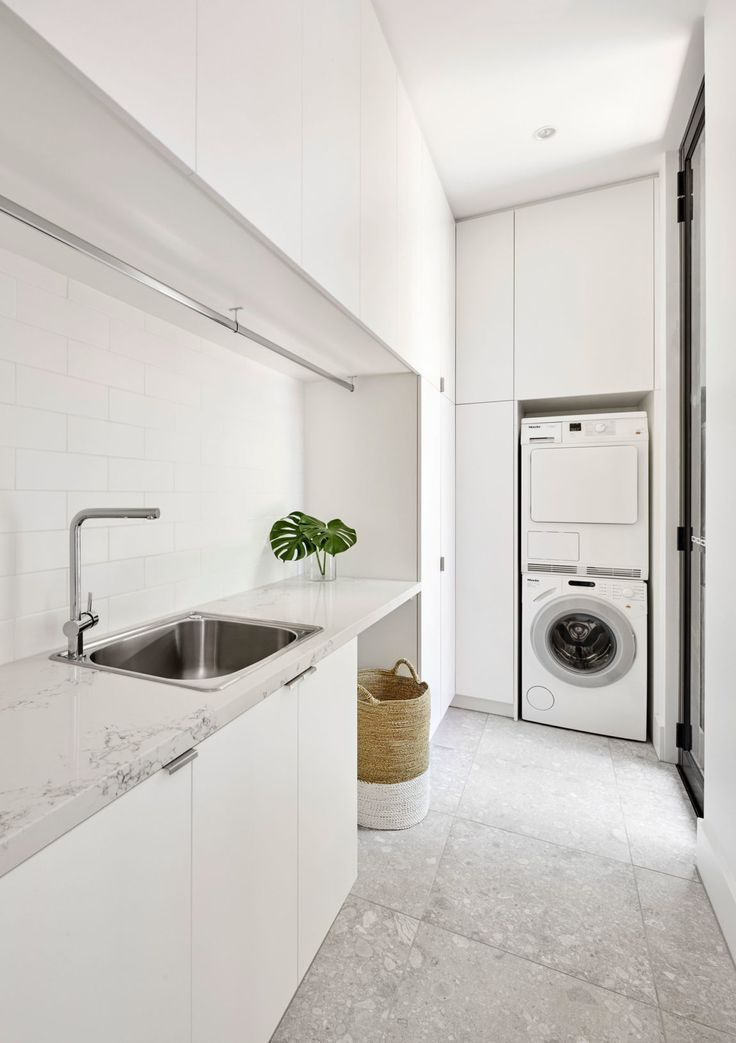Simple and Delicate Renovation of White Spaces by LSA Architects