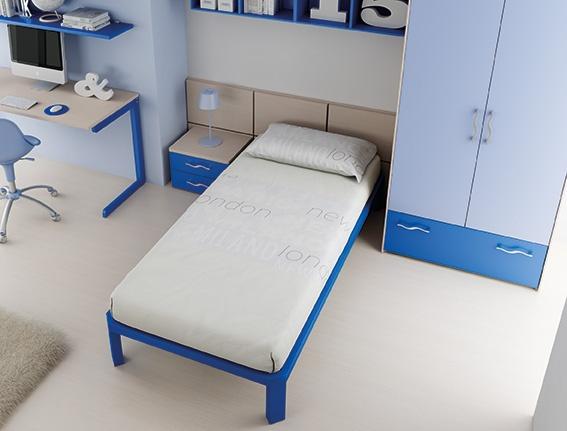 #Arredamento #Cameretta Moretti Compact: Catalogo Start Solutions 2013 >> LH29 #letto #armadio #comodino http://www.moretticompact.it/start.htm
