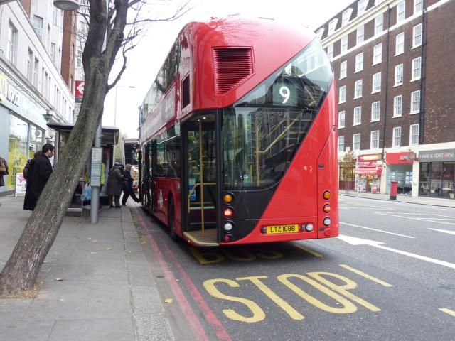 London Bus Routes For Sightseeing: Number 9 London Bus Route