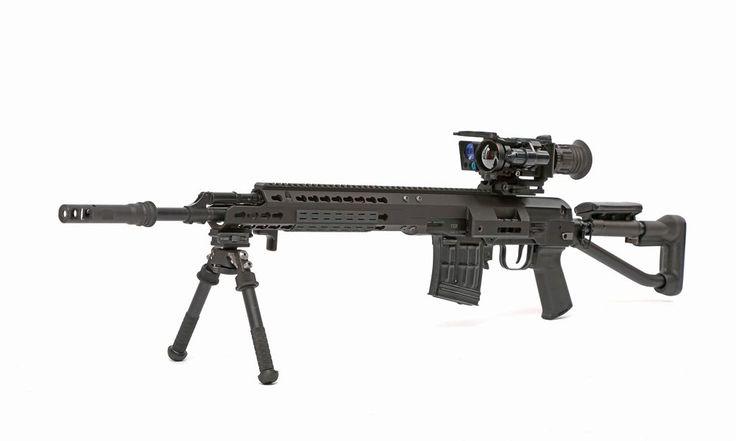 Всё чаще на стрельбищах стали появляться необычные автоматические снайперские винтовки, в которых только профессионал опознает старую добрую СВД...