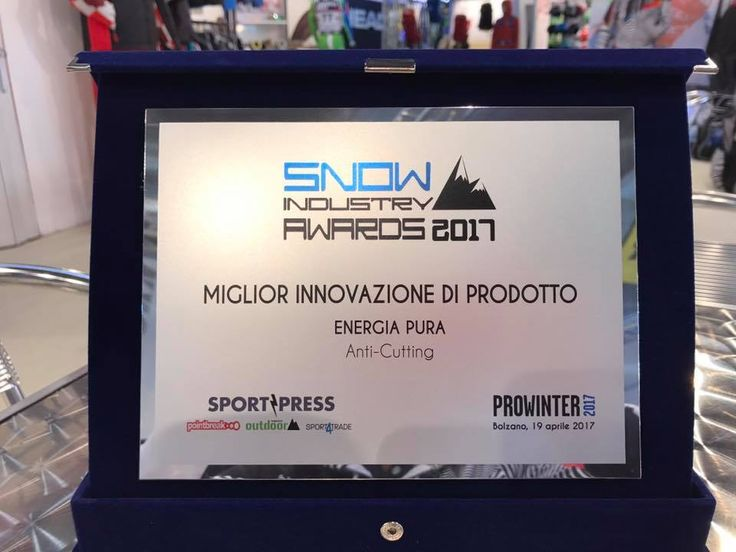 #Energiapura vince il premio di miglior innovazione di prodotto grazie allo sviluppo dell'#ANTICUTTING !😎 www.energiapura.info